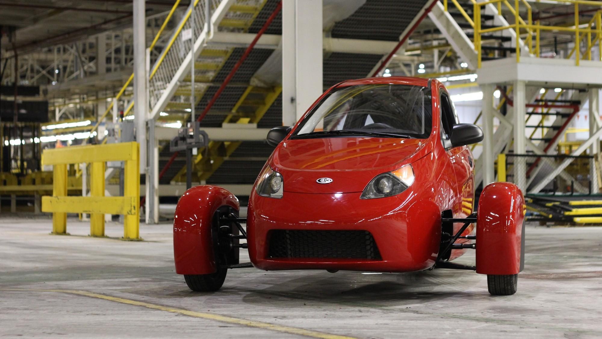 Elio-E: американский трицикл-долгострой перешёл на электричество