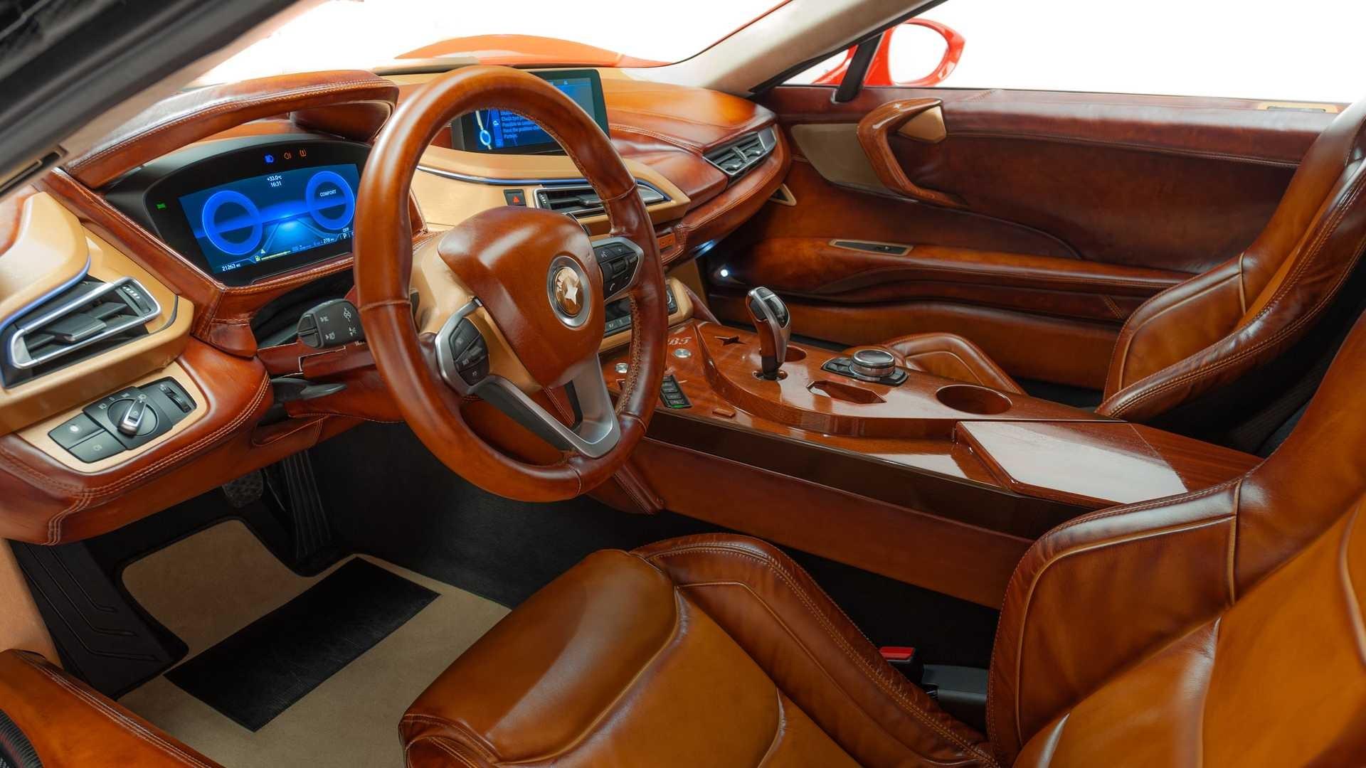Снятый с производства BMW i8 превратился в итальянский спорткар Taraschi Berardo