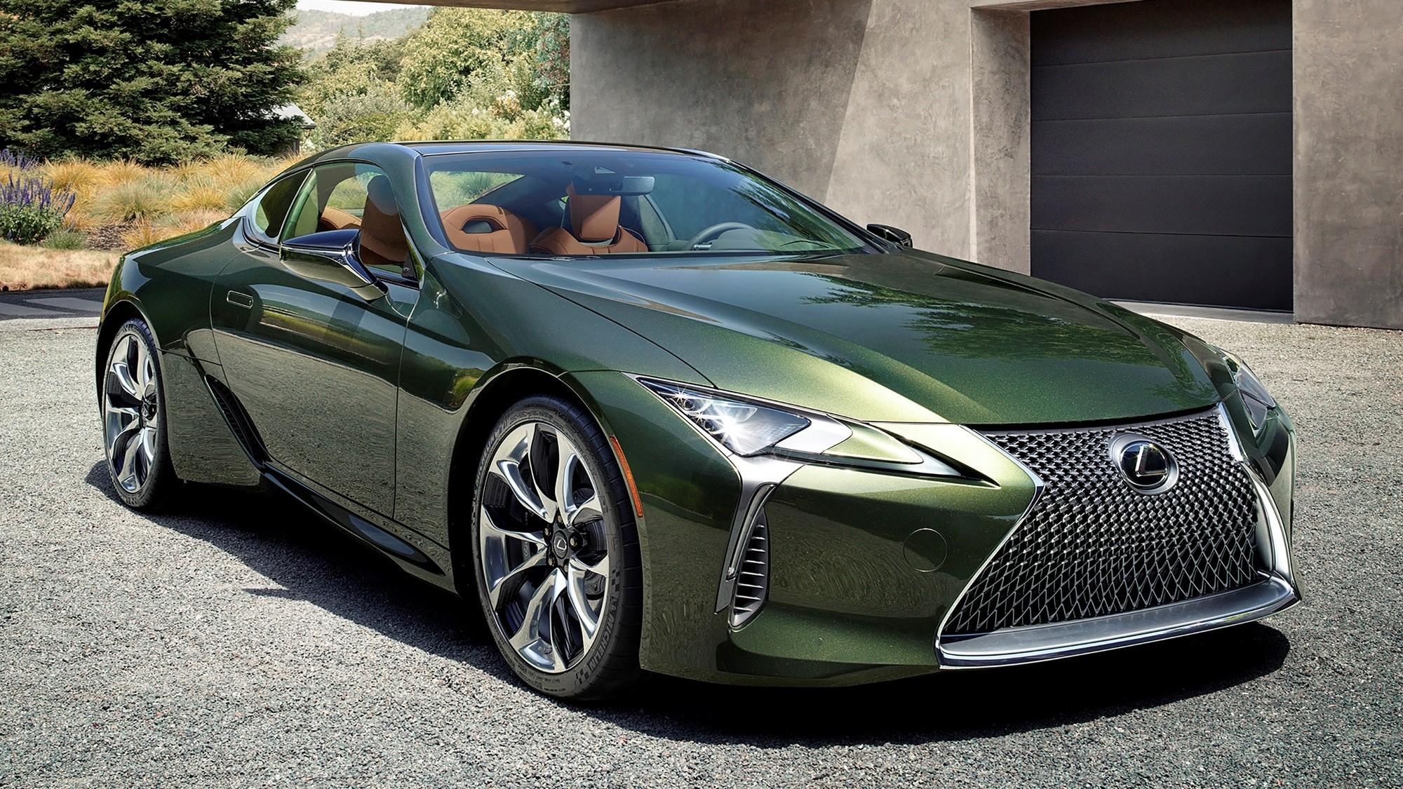 Lexus не откажется от спорткаров даже в электромобильную эру