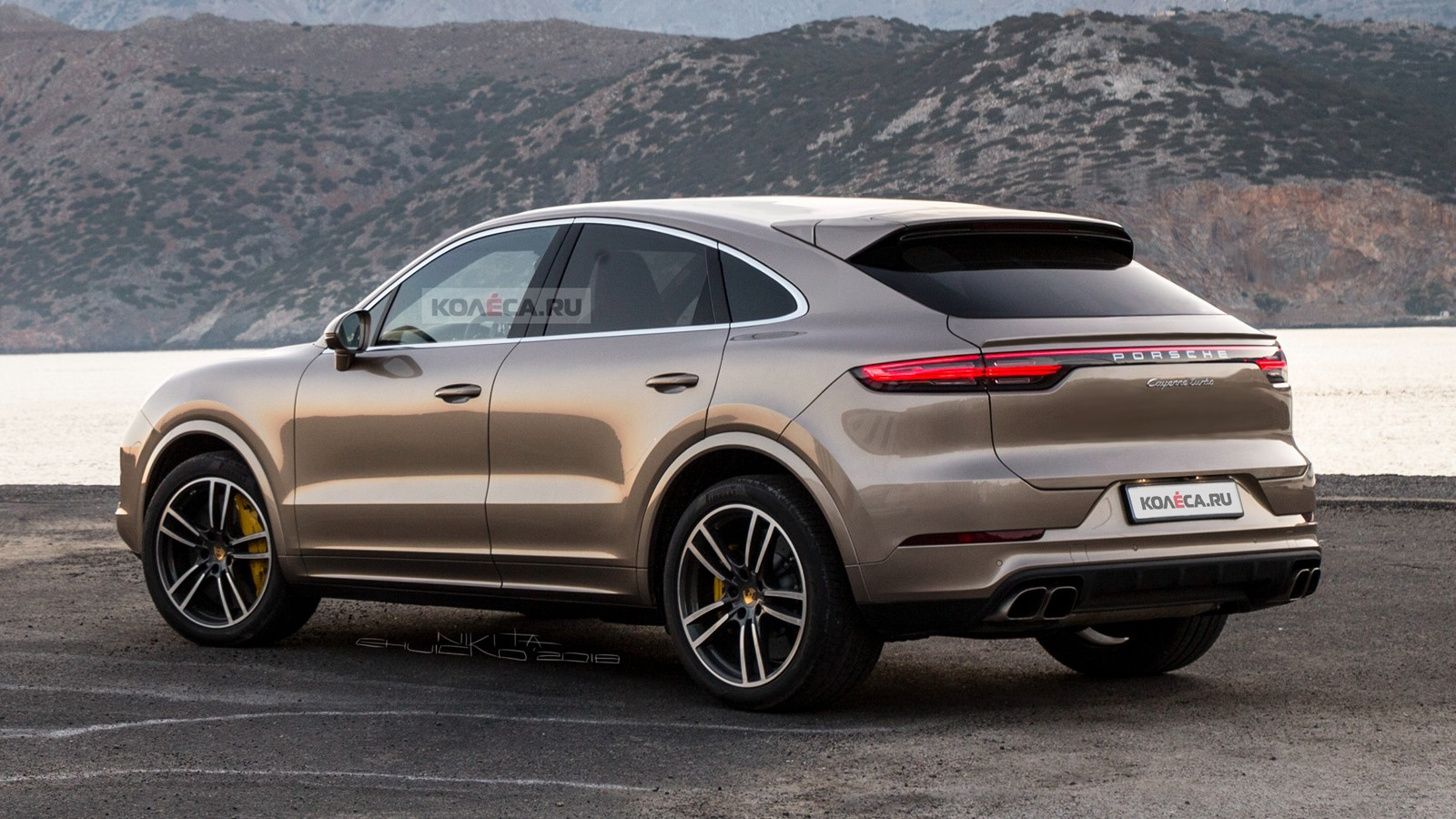 Porsche Cayenne Coupe rear1