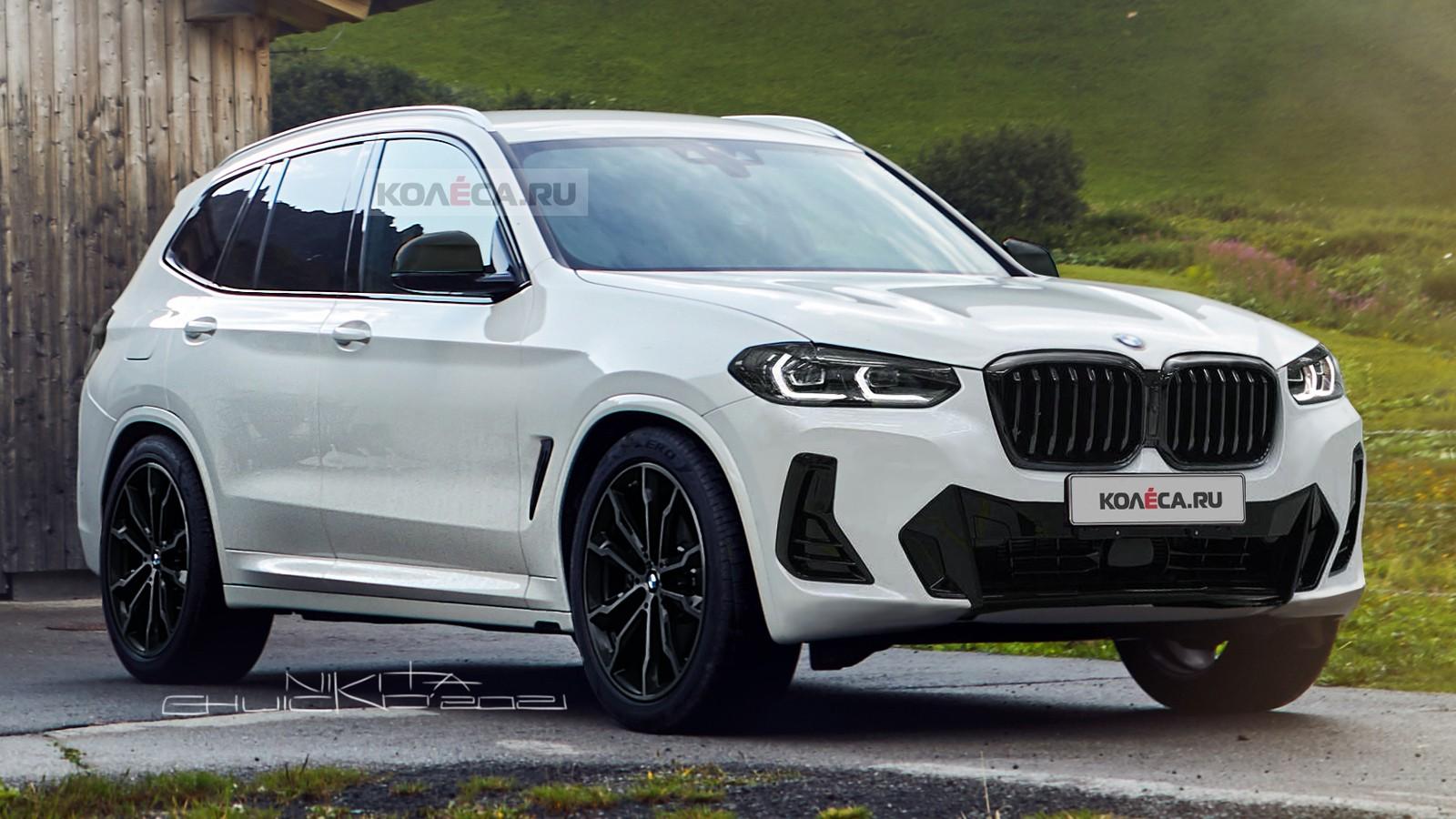 Рестайлинг BMW X3 (G01): новые изображения