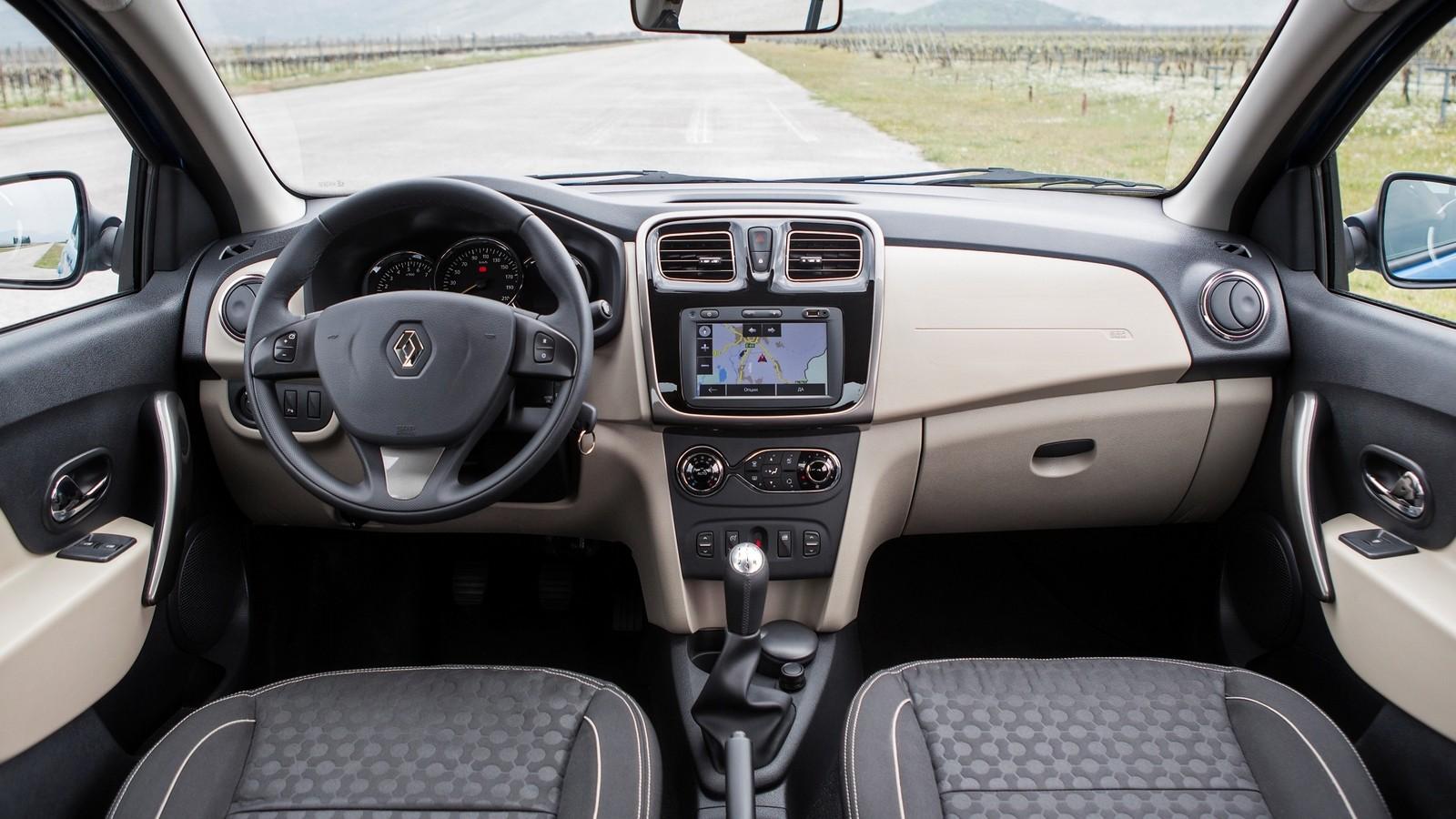 Интерьер Renault Logan RU-spec '2014–н.в.