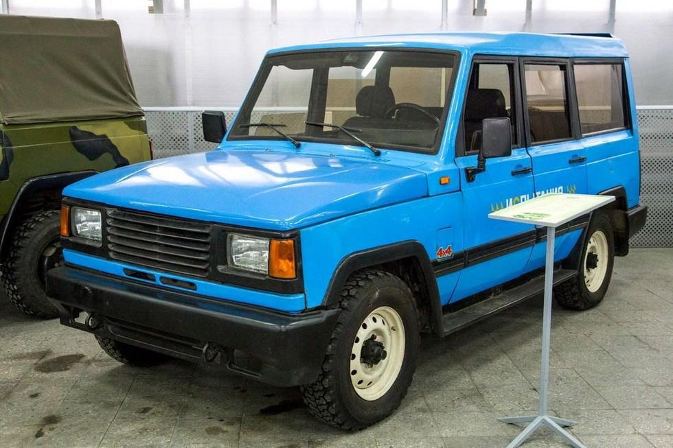 Опытный образец «гражданского» варианта УАЗ-3172-01