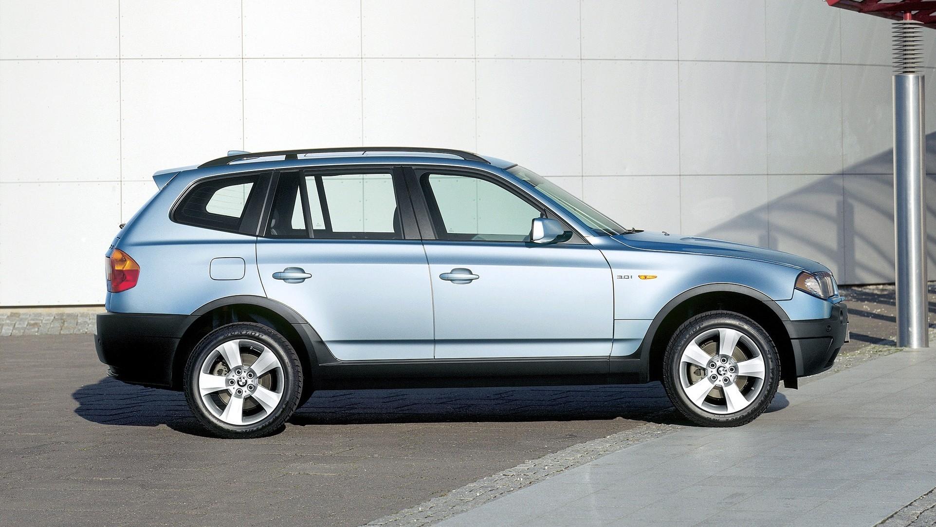На фото: BMW X3 3.0i (E83) '2003–06