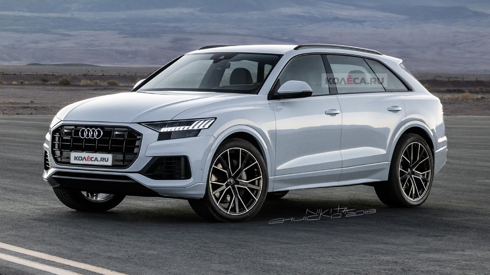 Audi Q9 front2