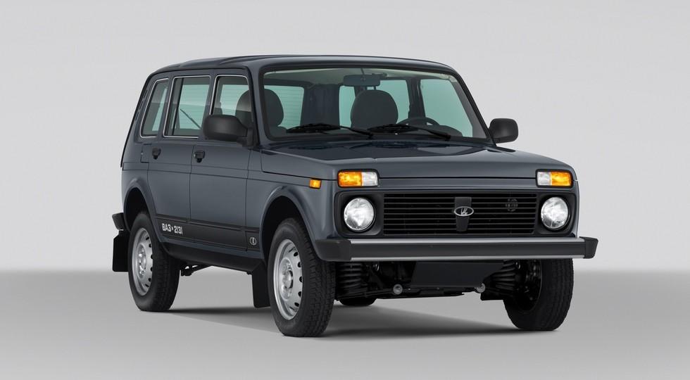 На фото: пятидверная версия Lada 4x4