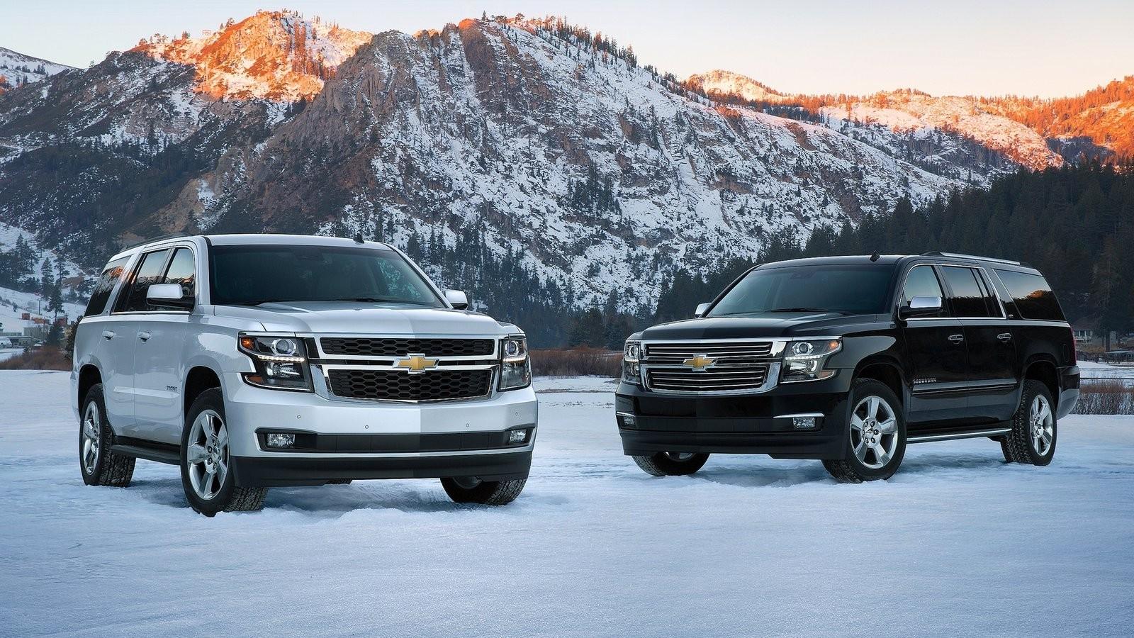 На фото: Chevrolet Tahoe '2014–н.в.