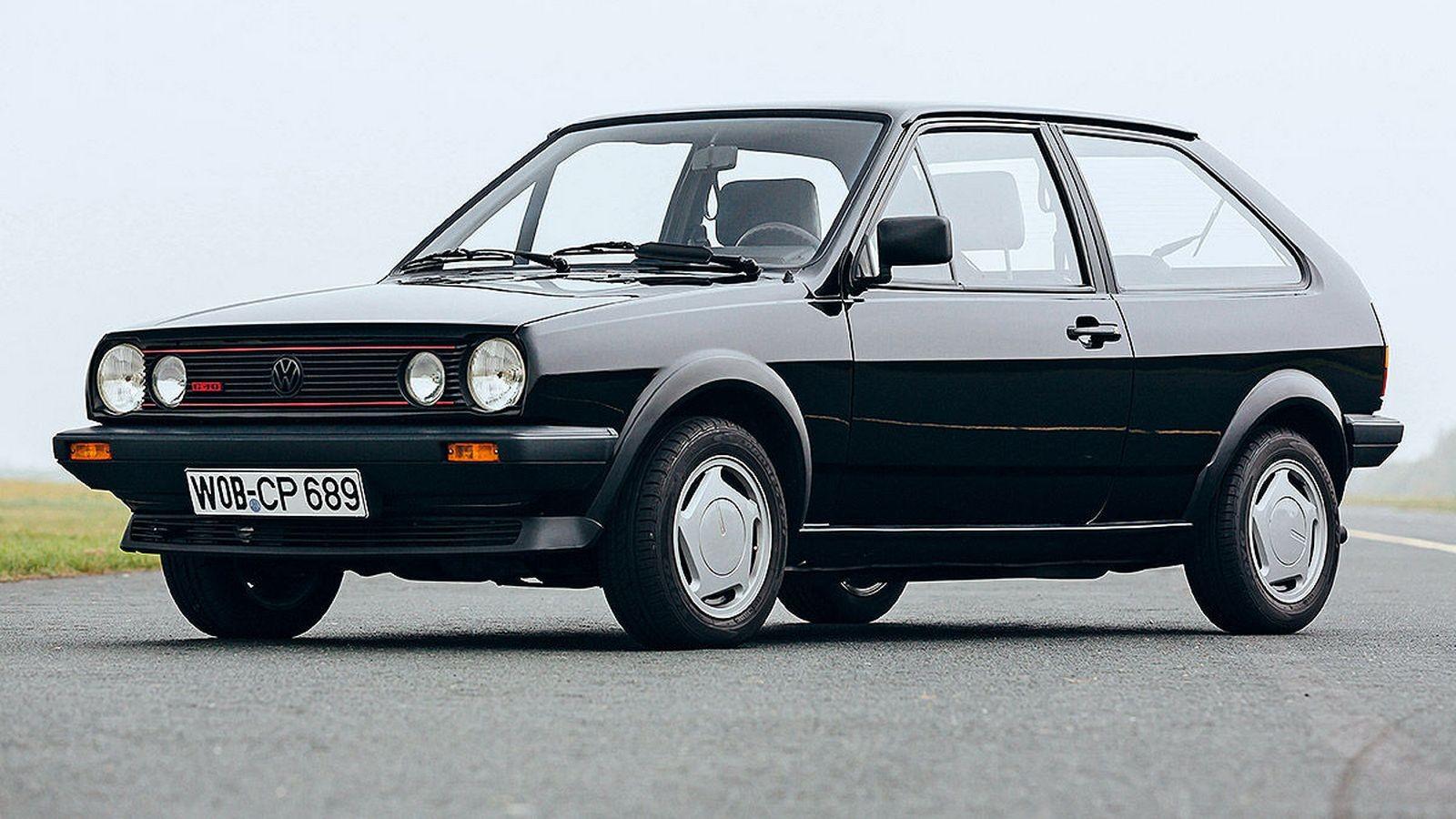 На фото: Volkswagen Polo G40 '1987–88