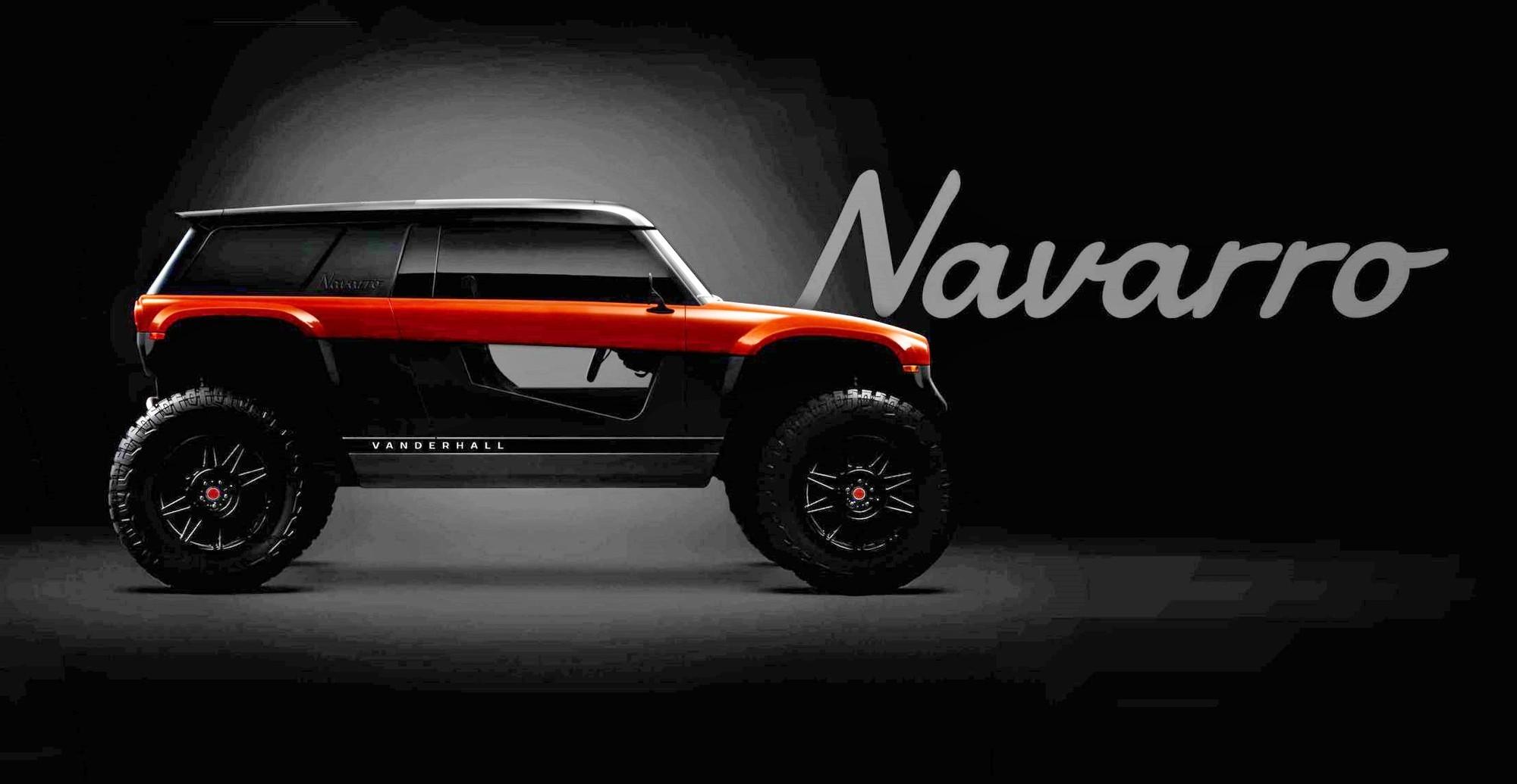 Vanderhall Navarro превзойдёт Ford Bronco и Jeep Wrangler по геометрической проходимости