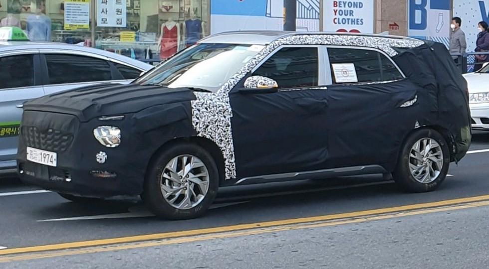 Семиместная Hyundai Creta может получить отдельное имя – Alcazar