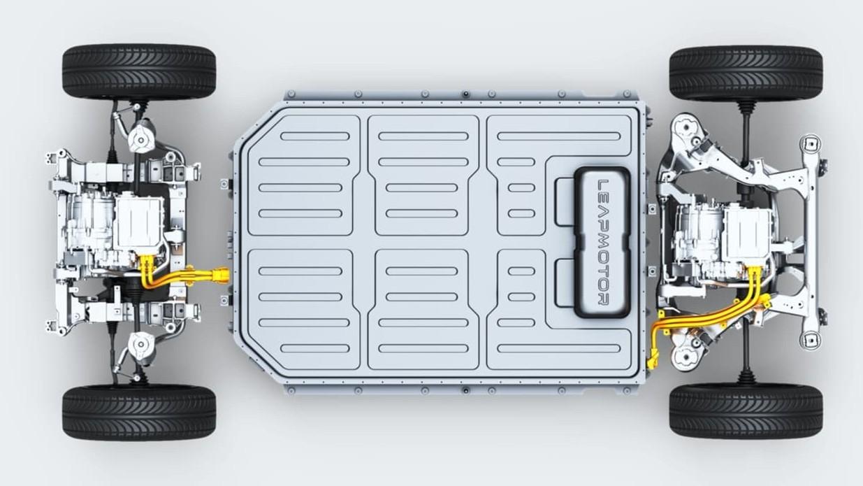 Серийный Leapmotor C11: полный привод, три экрана, автопилот и доступная цена