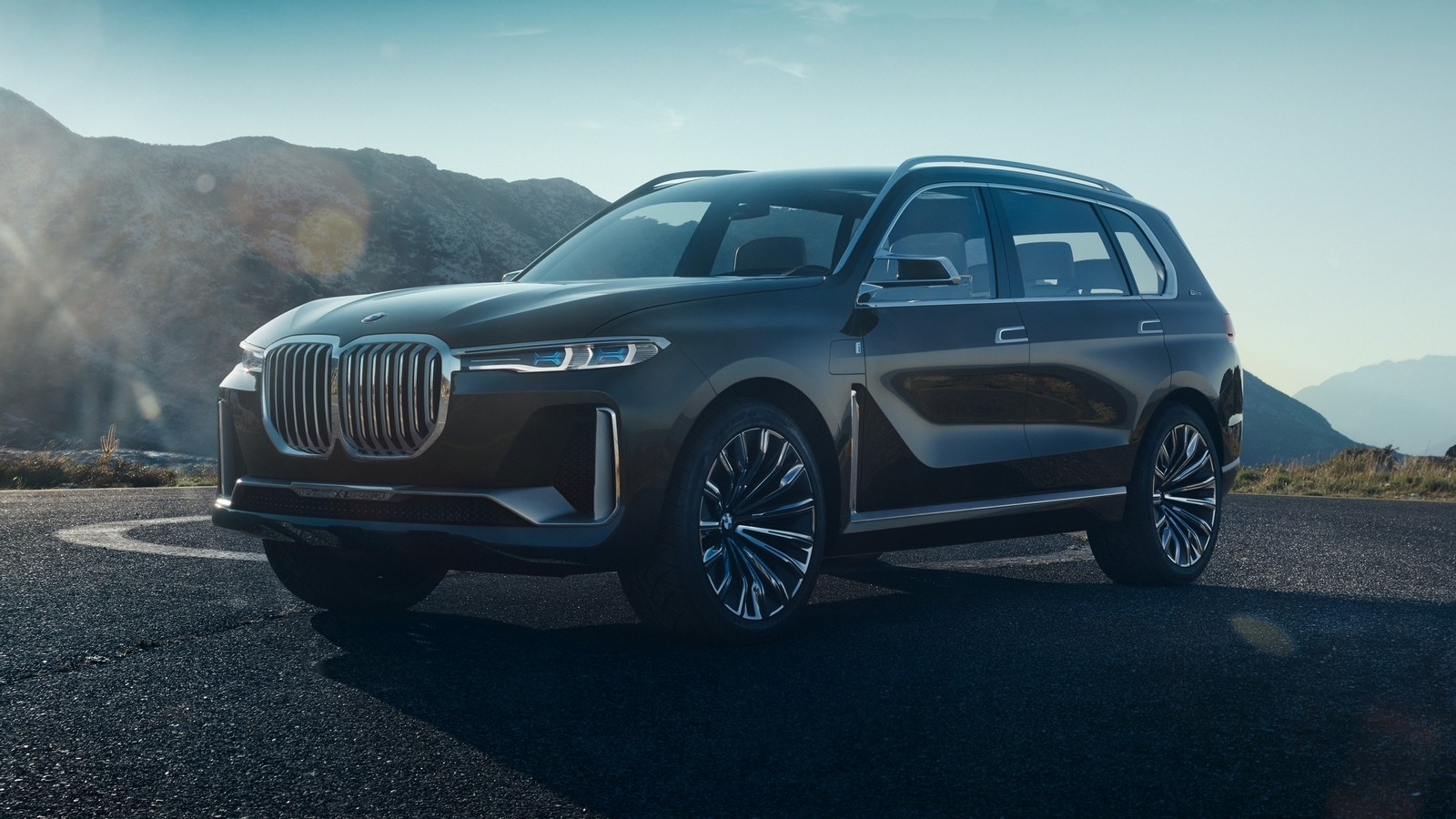 BMW Concept X7 iPerformance '09.2017