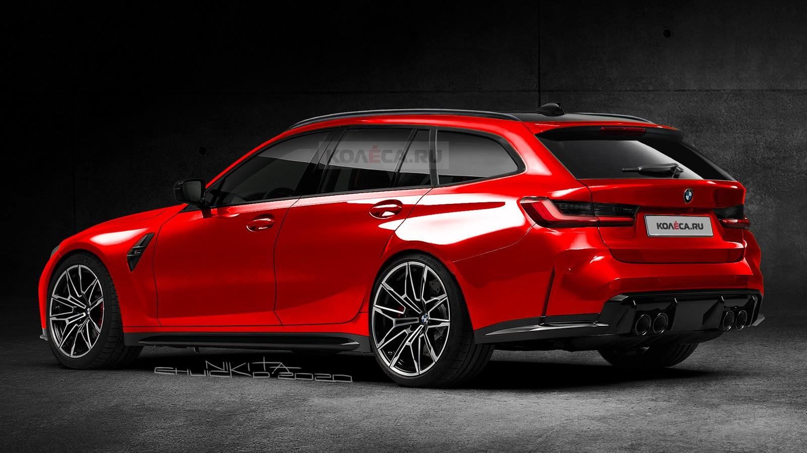 Первый серийный универсал BMW M3 Touring: новые изображения