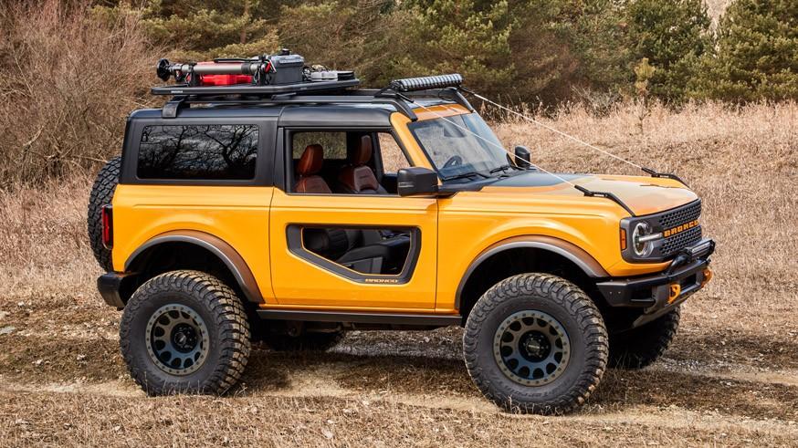 Рамный внедорожник Ford Bronco получит ещё один вариант «начинки» в следующем году