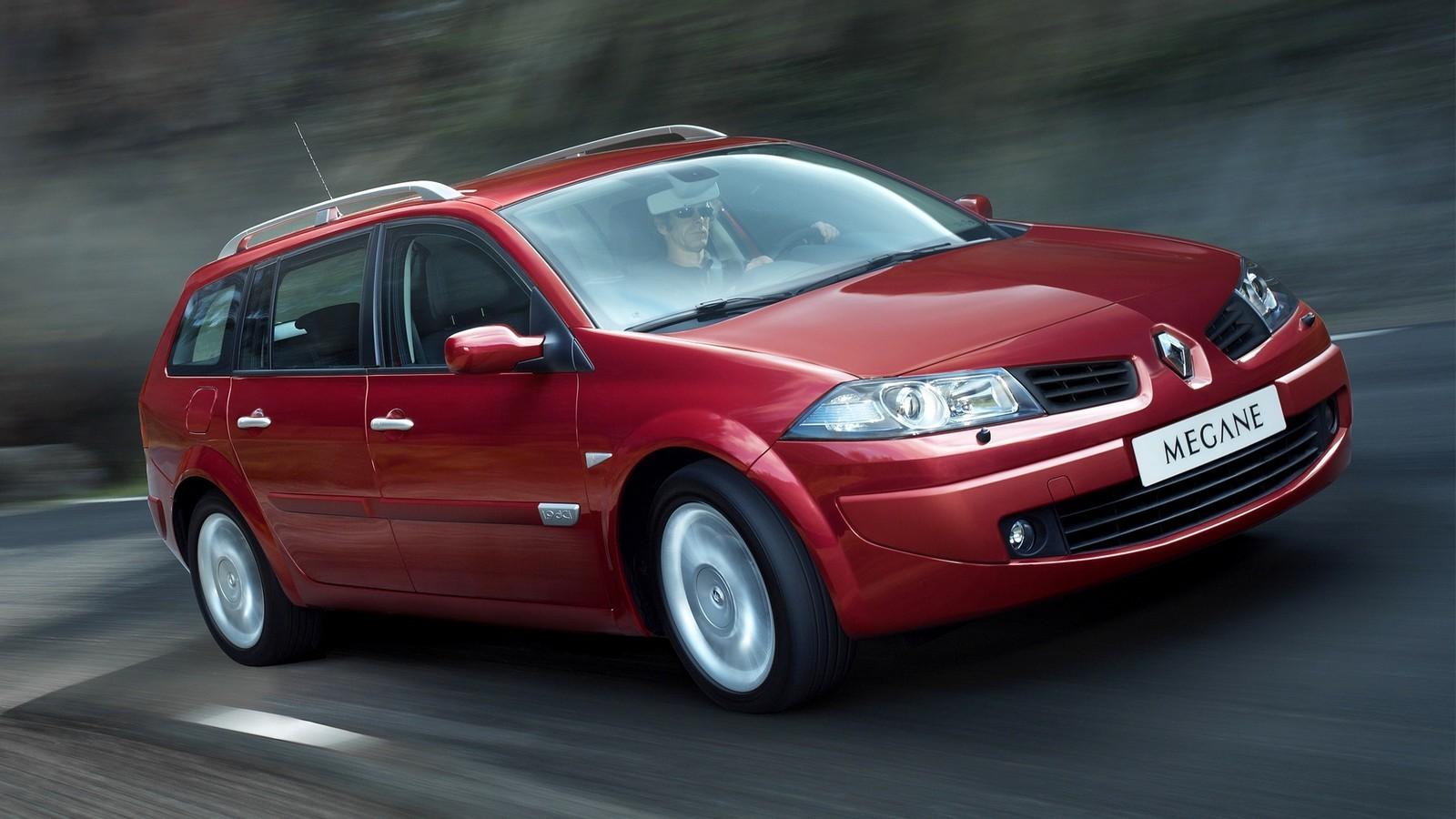 На фото: универсал Renault Megane '2006–09