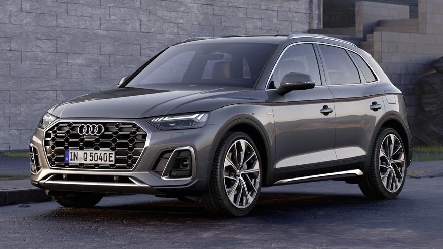 Audi готовит ещё одну версию кроссовера: первое изображение Q5 e-tron