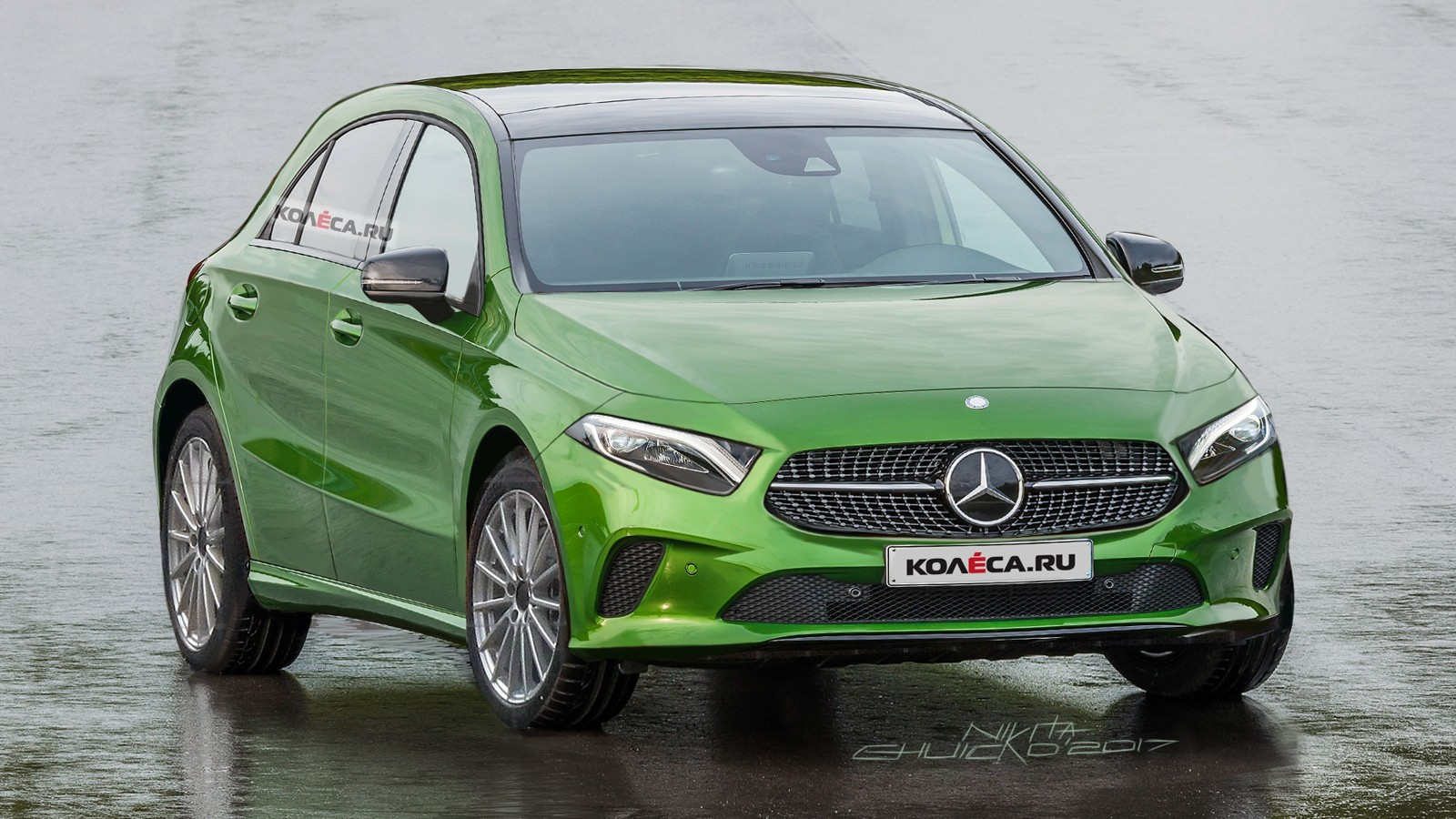 Mercedes-Benz A-class front1