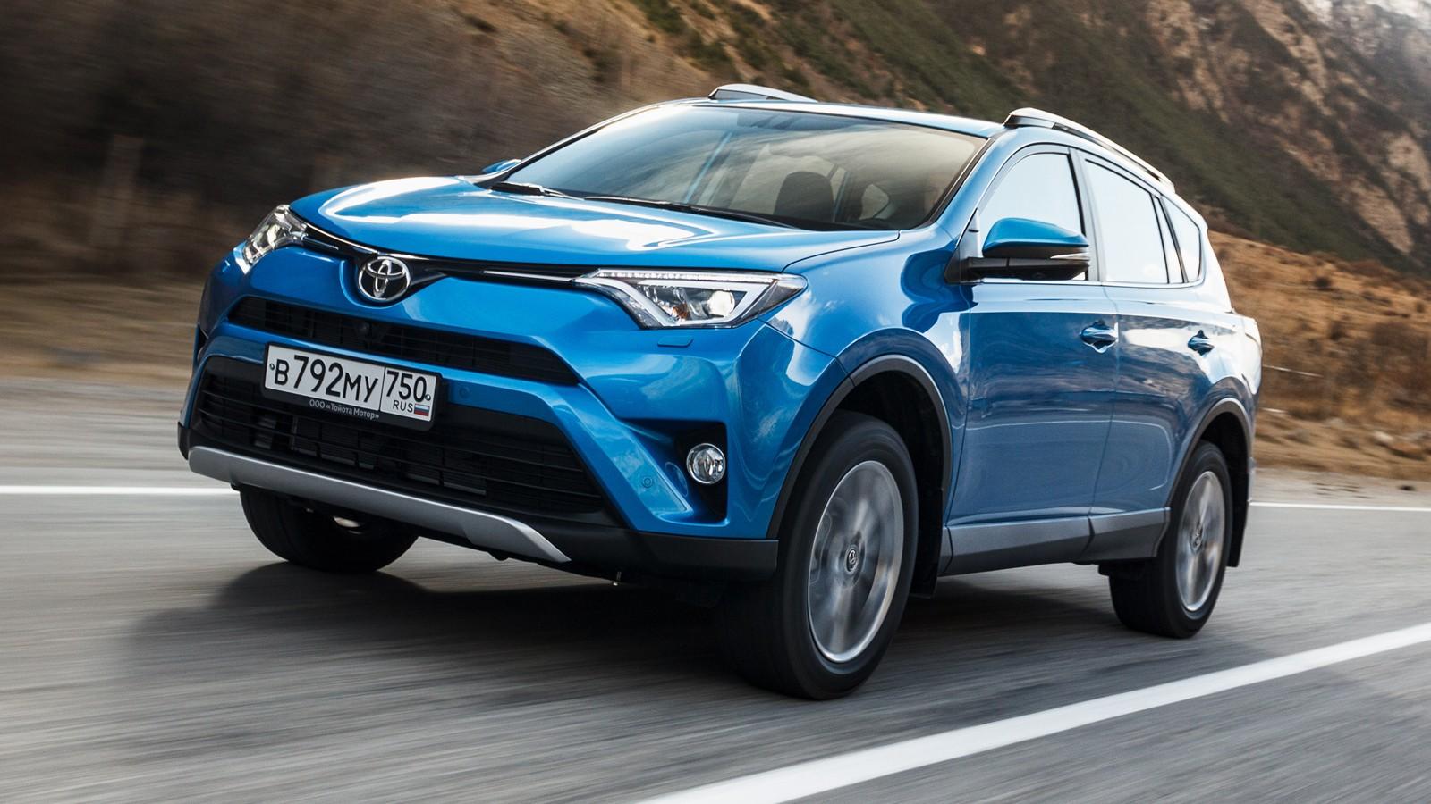 На фото: Toyota RAV4