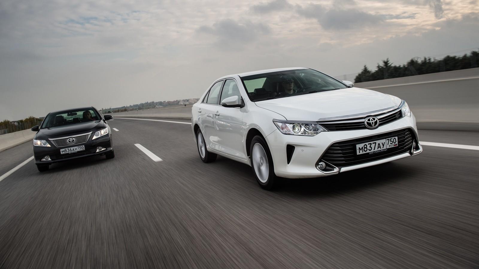 На фото: Toyota Camry (XV50) '2011–н.в.