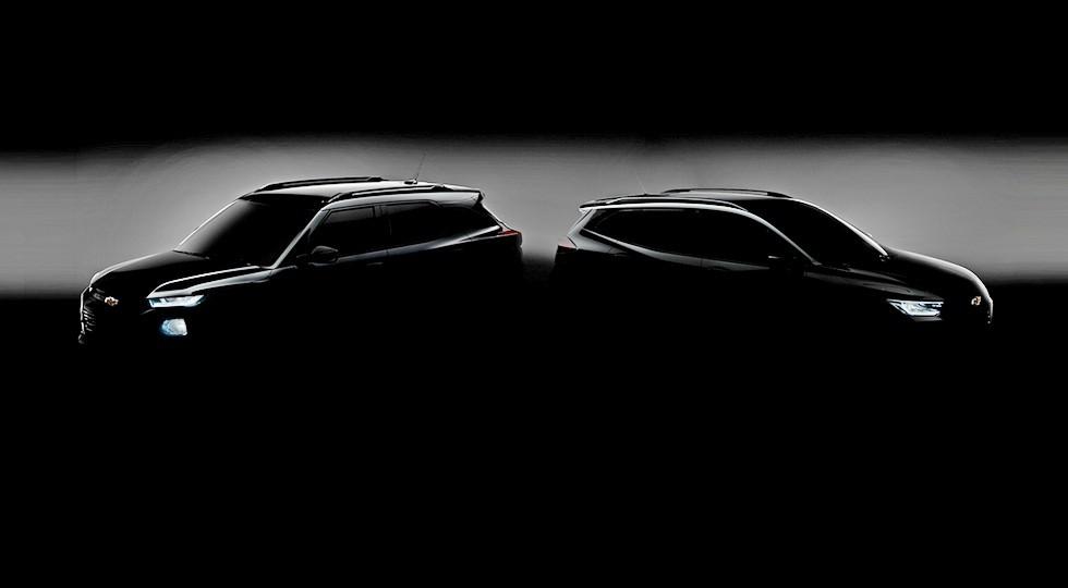 Слева - новый Chevrolet Trailblazer для Китая, справа - новый Chevrolet Tracker