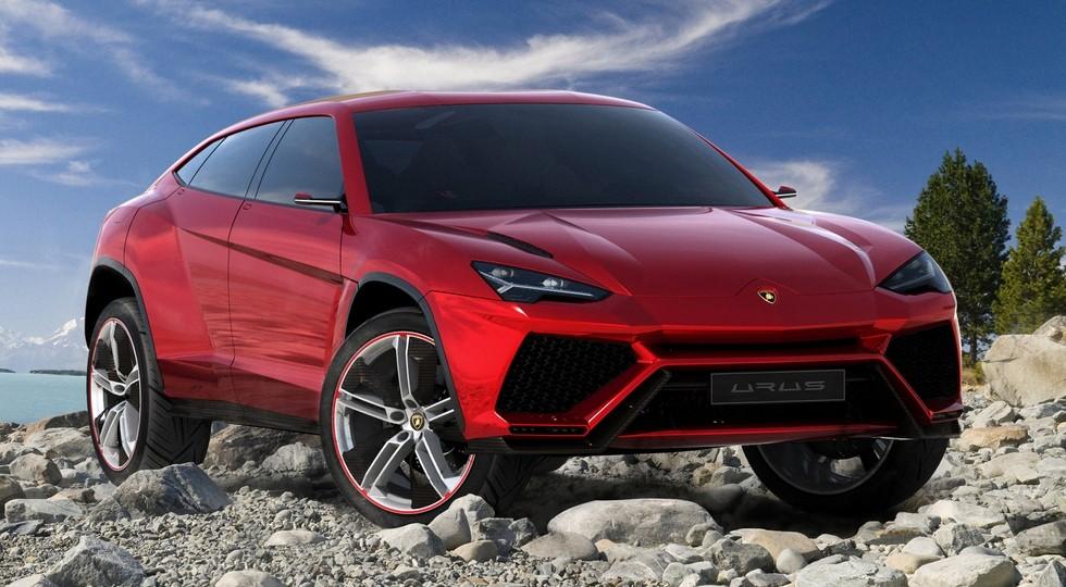 На фото: концепт Lamborghini Urus