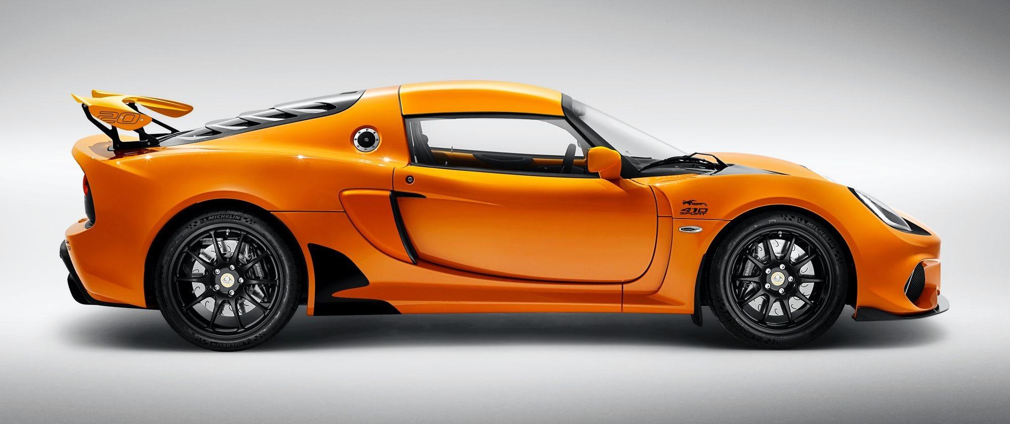 Бешеное «корытце»: Lotus представил юбилейный Exige для автогурманов