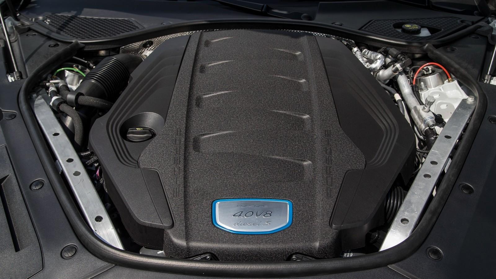 Дизель 4.0 V8 под капотом Porsche Panamera