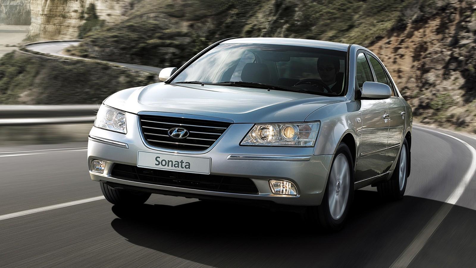 Hyundai Sonata (NF) '11.2007–09.2009ы