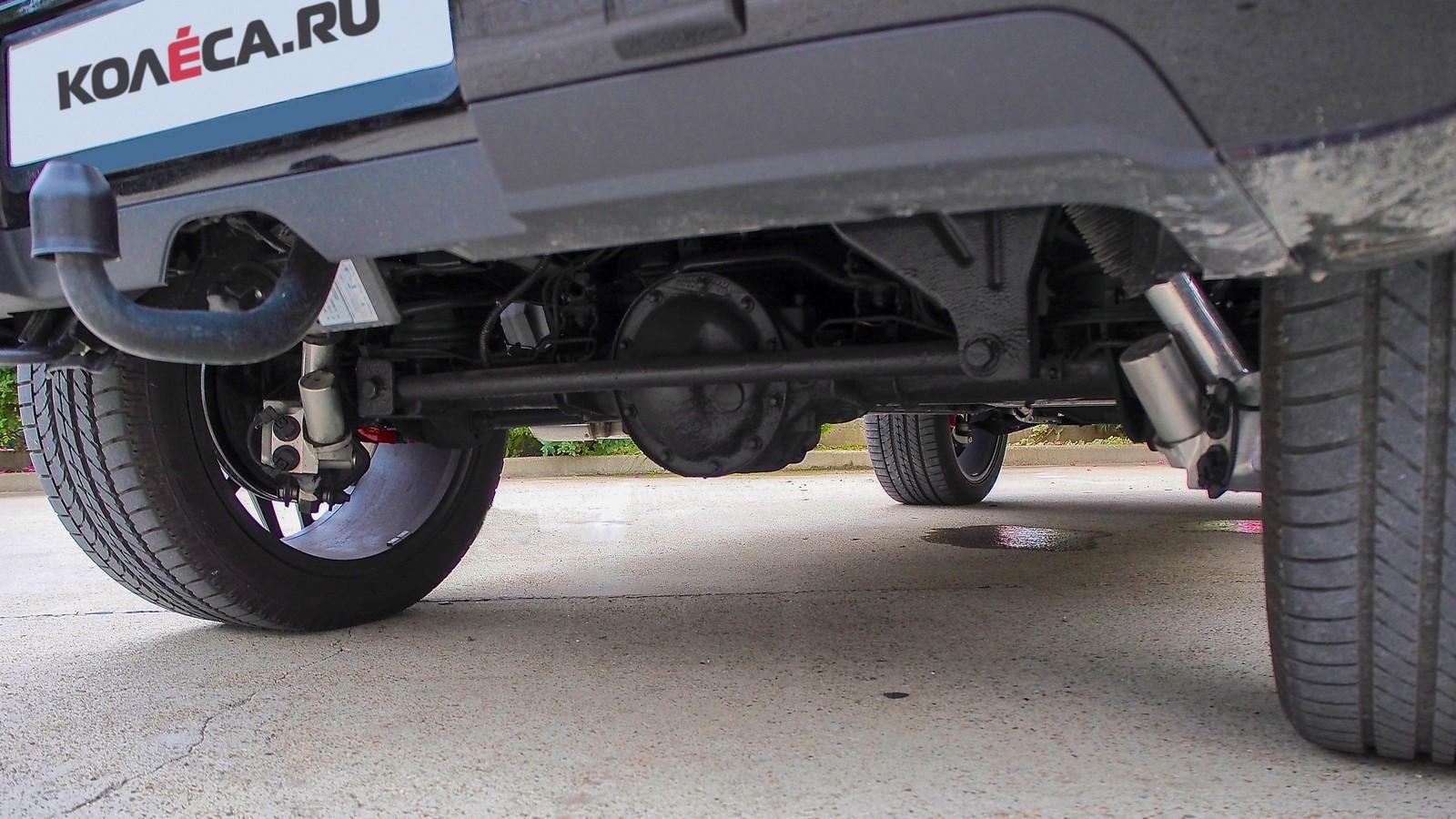 Mercedes-Benz G-Klasse подвеска