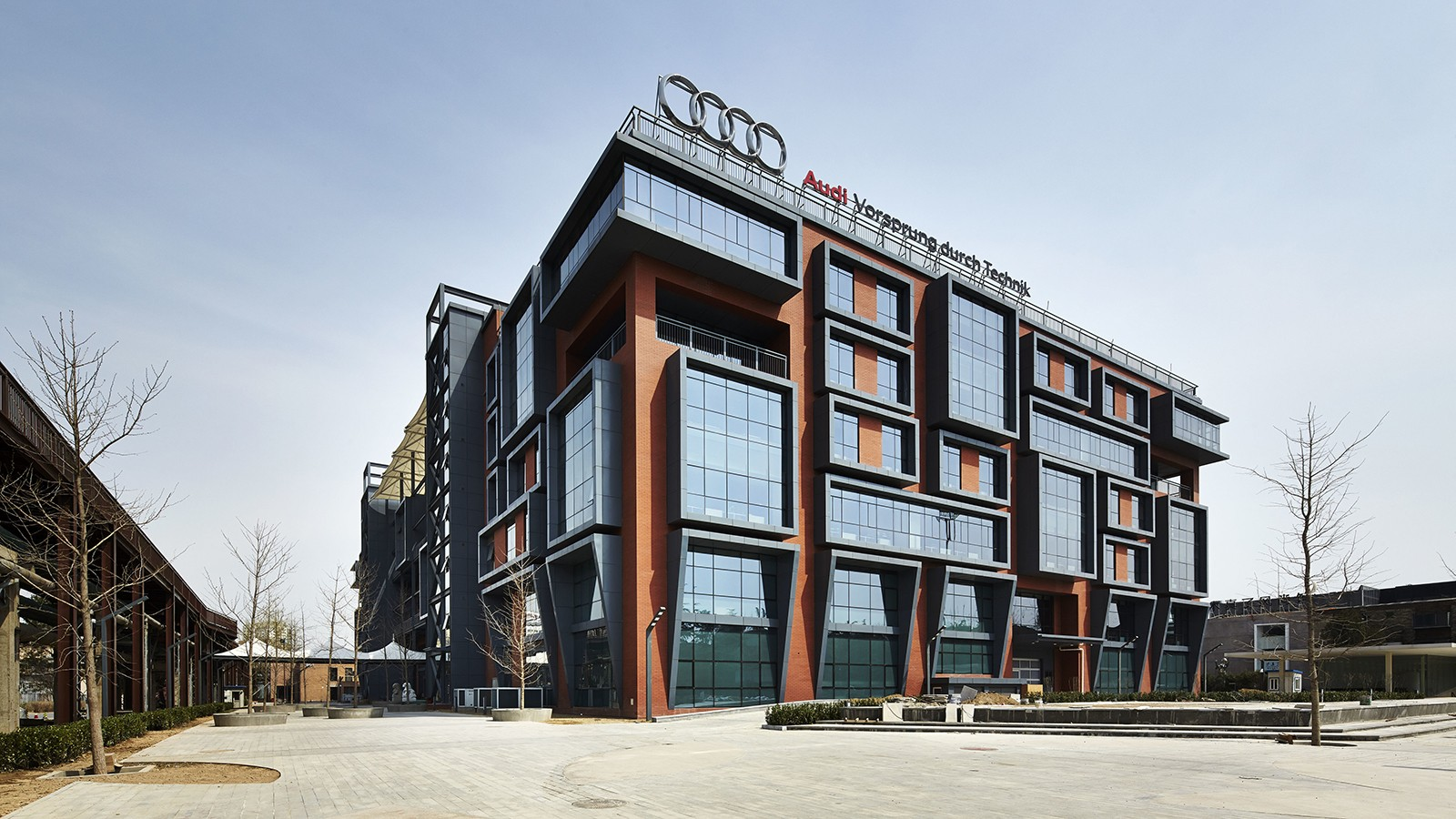 На фото: центр исследований и разработок Ауди в Пекине