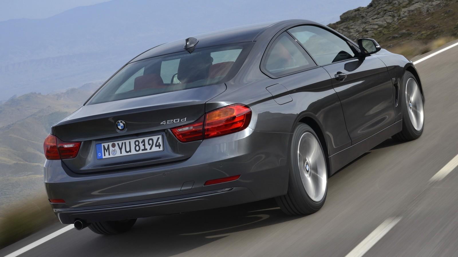 BMW 420d Coupé Sport Line (F32) '2013–17