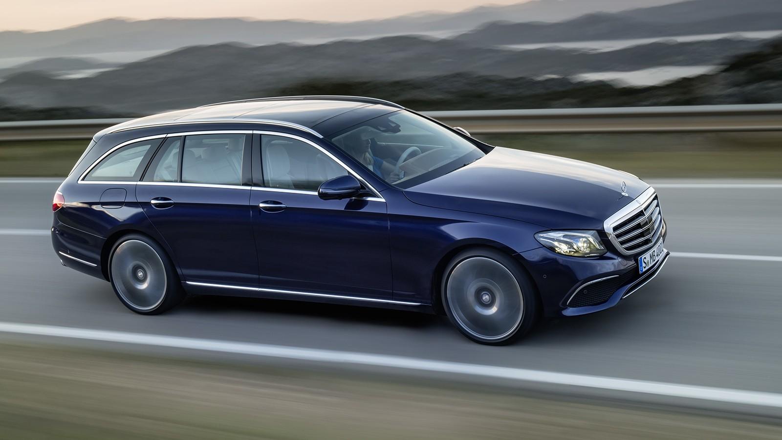 На фото: Mercedes-Benz E-Klasse