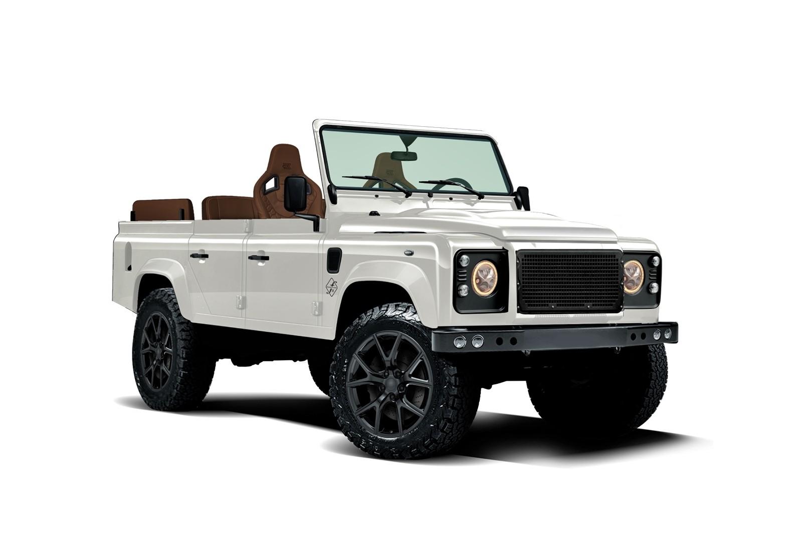 Land Rover Defender Function: на раме от Jeep Wrangler и с мотором V8 от GM