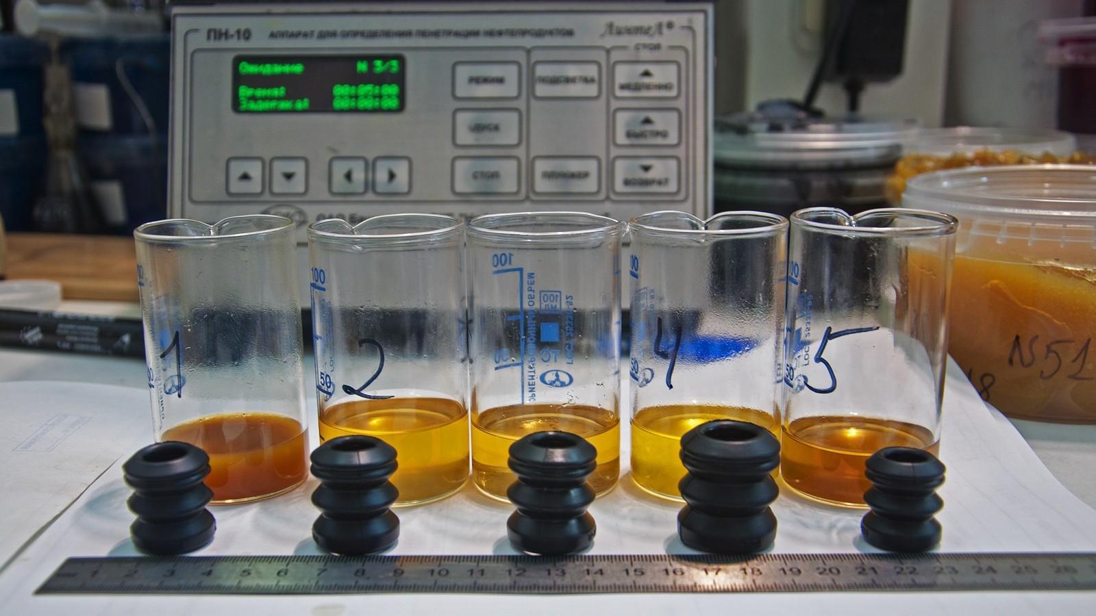 тестирование жидких ключей на резине