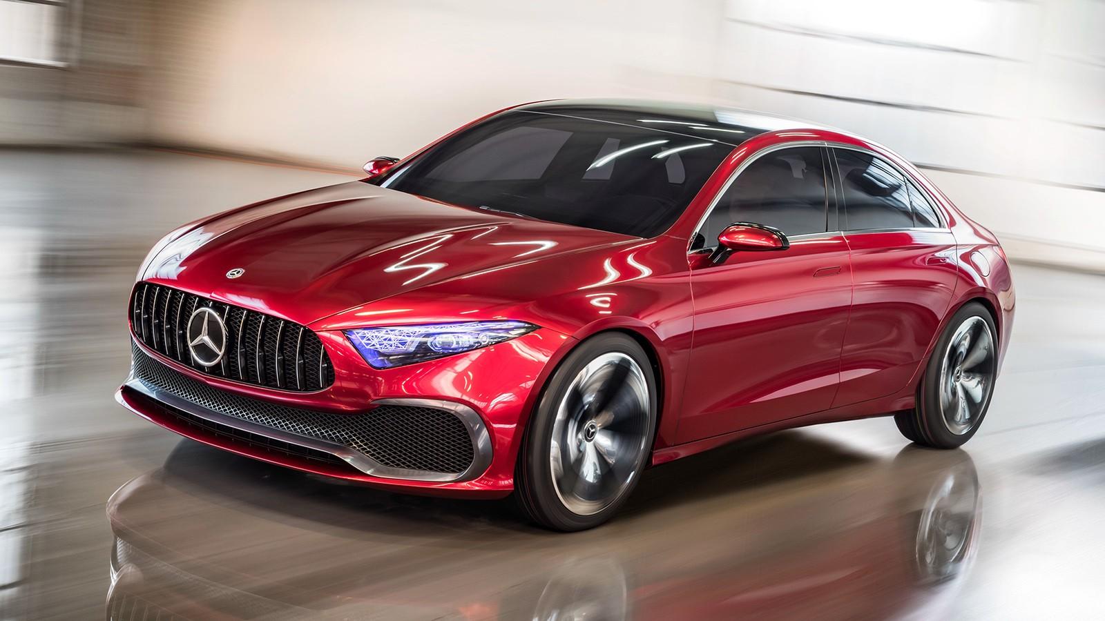 На фото: Mercedes-Benz Concept A Sedan