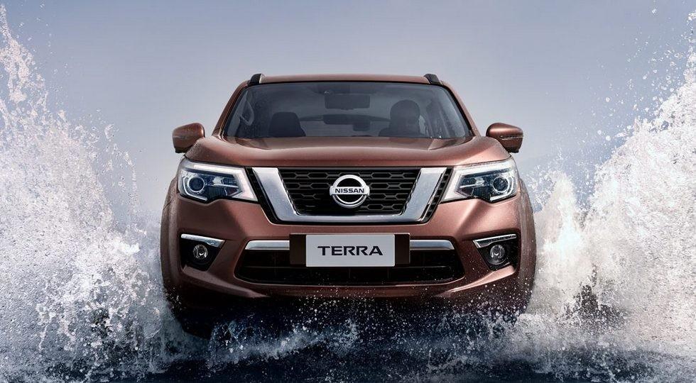 Рамный внедорожник Nissan Terra обновлён вслед за пикапом Navara: видео и дата премьеры
