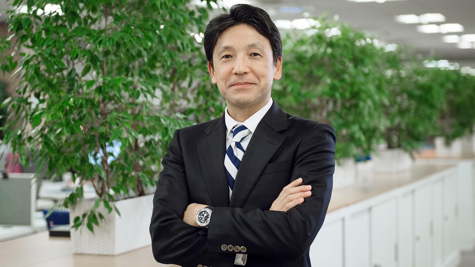 На фото: новый президент ООО «Тойота Мотор» Сюдзи Суга