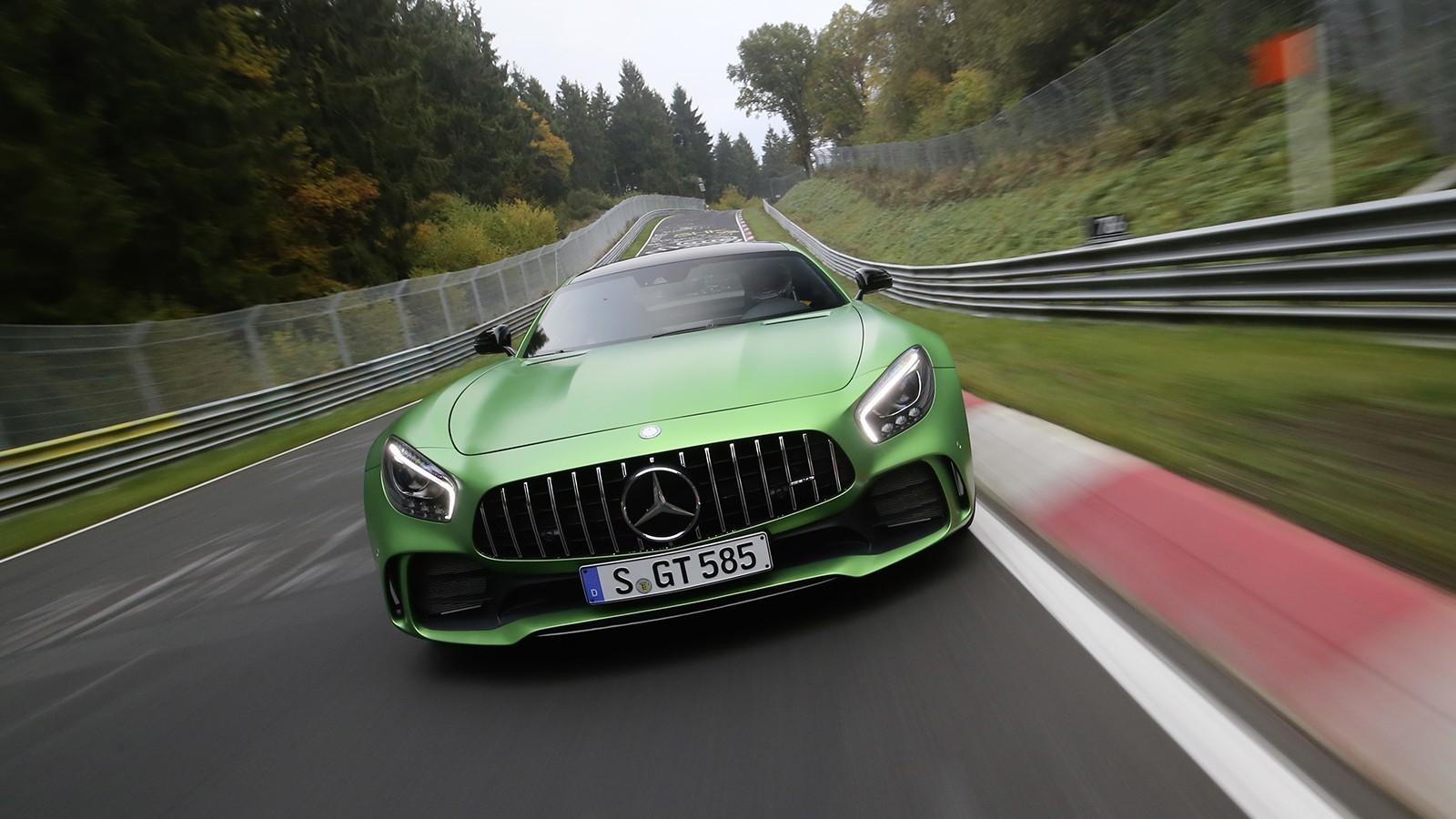 """In 7.10,9 Minuten um den Nürburgring: Mercedes-AMG GT R: Top Nordschleifen-Rundenzeit für das """"Beast of the Green Hell"""""""