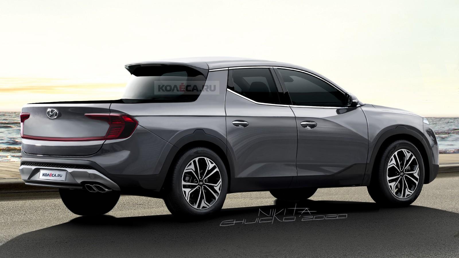 Новый пикап Hyundai Santa Cruz: первые изображения