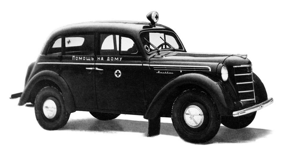 Москвич-400 420М '1947–54