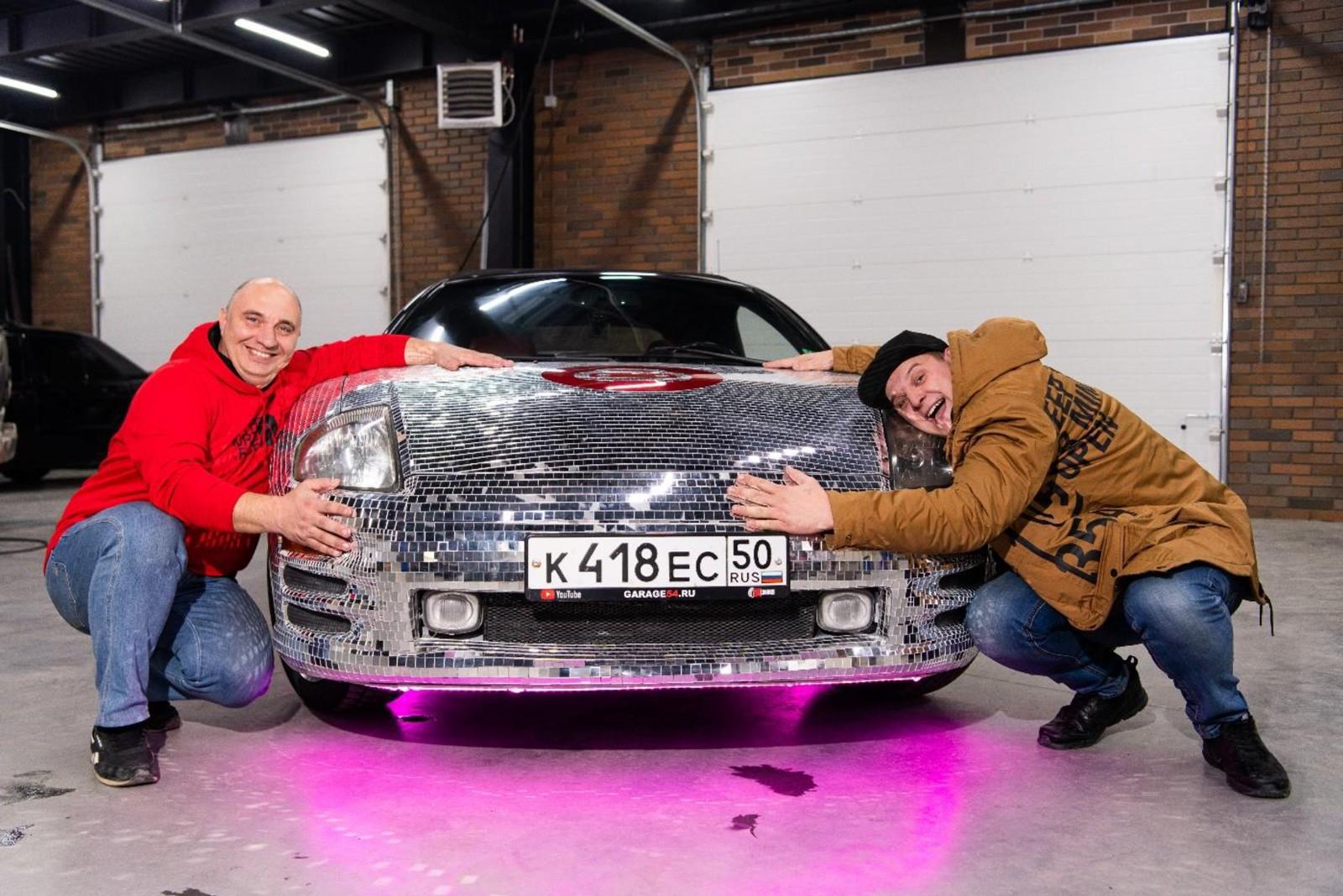 Eclipse для книги Гиннесса: кабриолет с 65000 зеркал покажут в Краснодаре