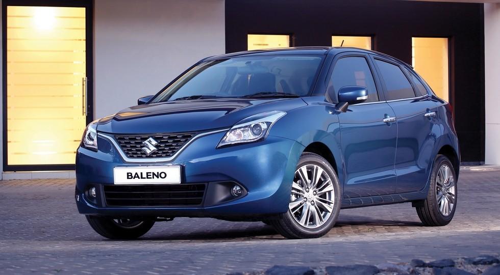 На фото: стандартная версия Suzuki Baleno