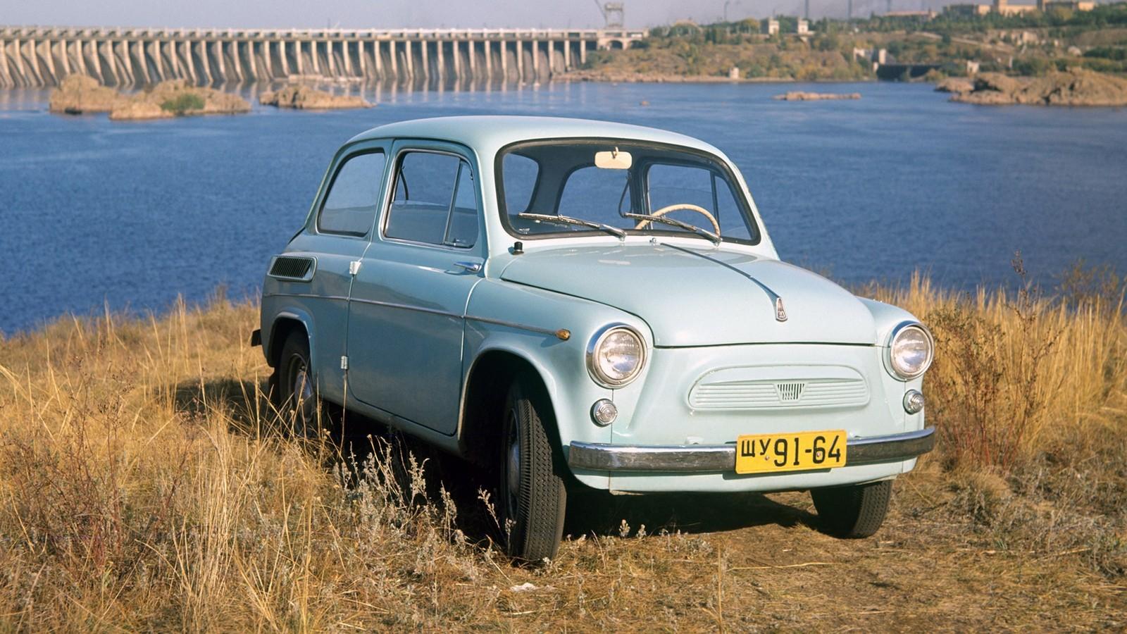 На фото: ЗАЗ-965 Запорожец '1962–1965