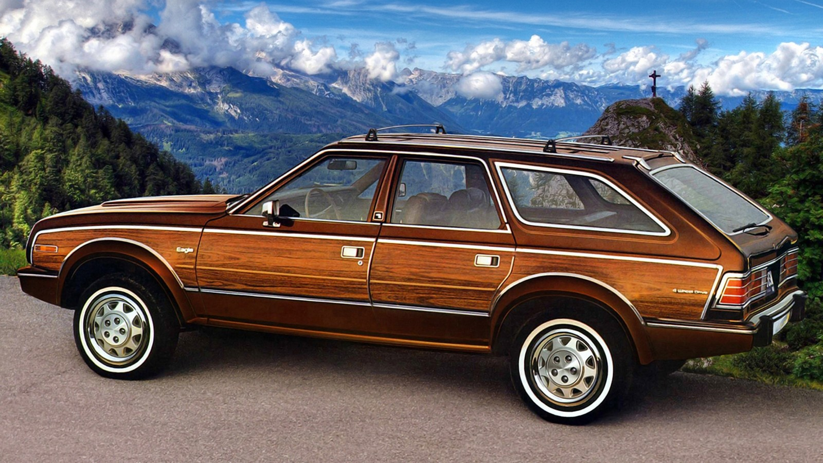 На фото: AMC Eagle Wagon '1985