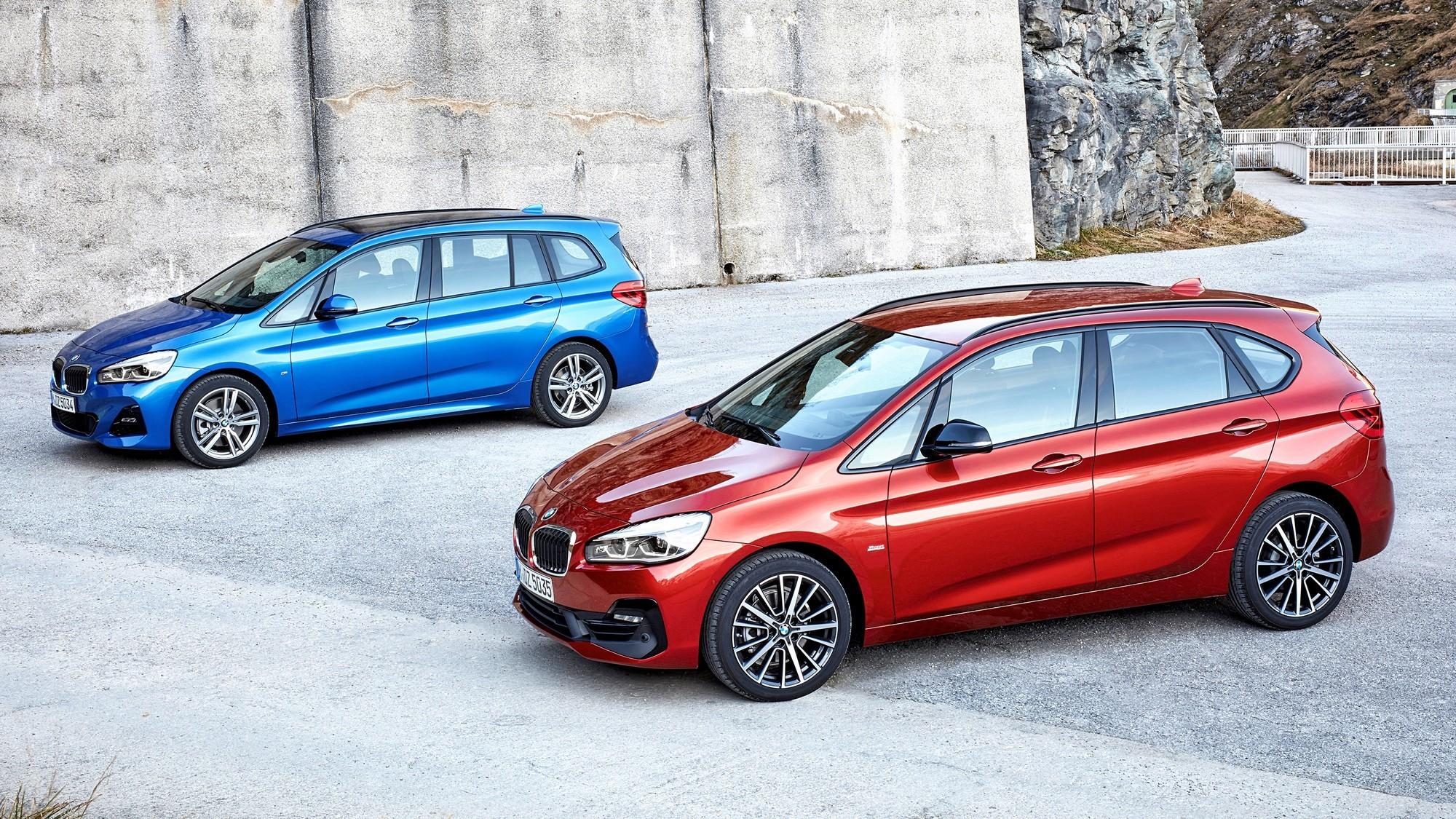 Новый BMW 2 Series Active Tourer утёк в Сеть до премьеры: и здесь большие ноздри!