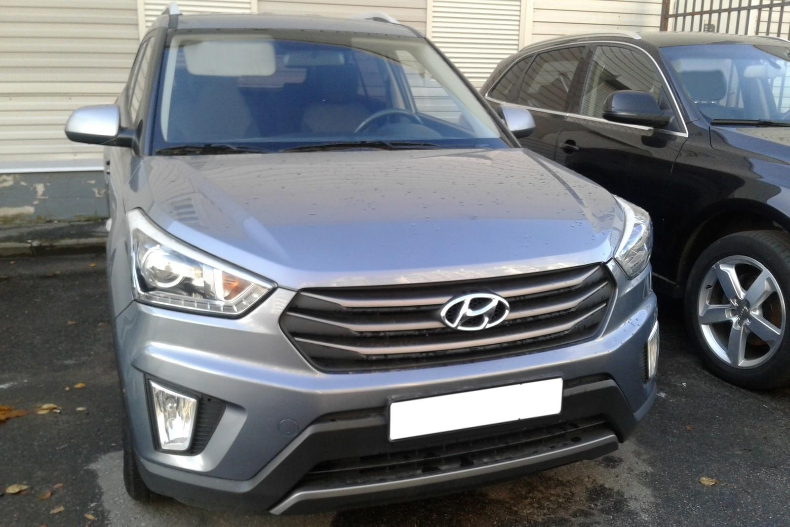 Hyundai Creta серый