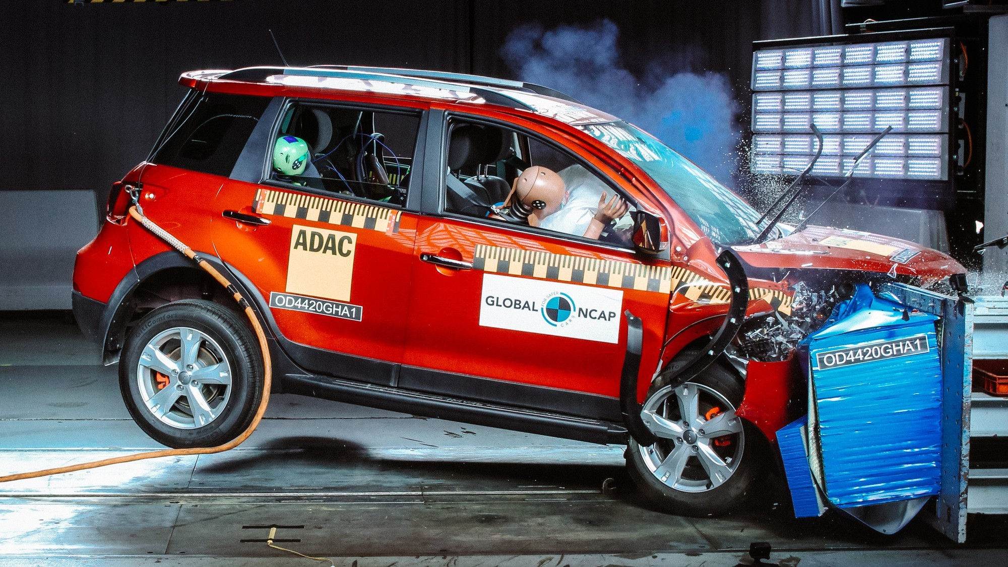 Так жить нельзя: Great Wall Steed 5, Haval H1 и Renault Kwid в краш-тестах Global NCAP