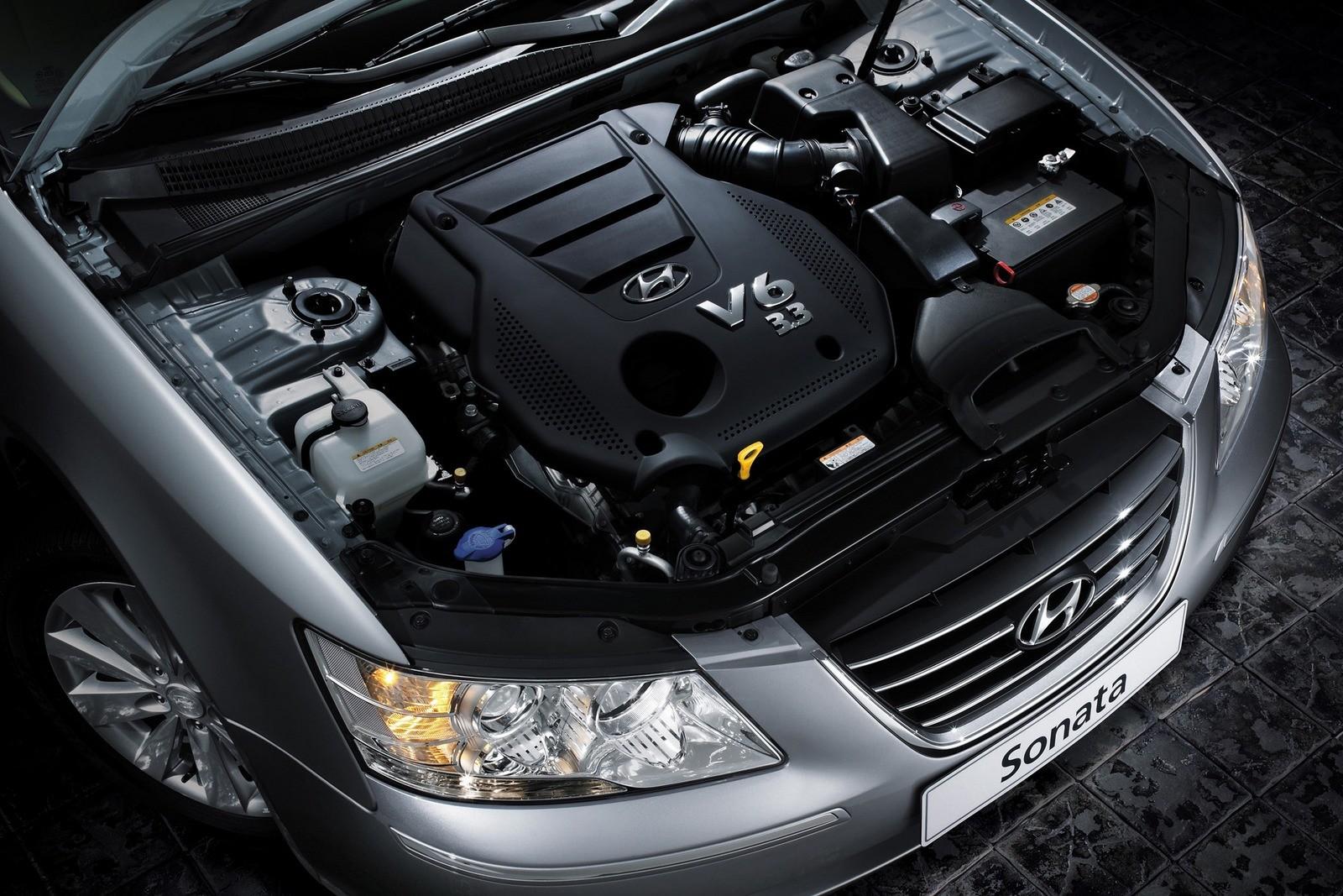 Под капотом Hyundai Sonata (NF) '11.2007–09.2009ю