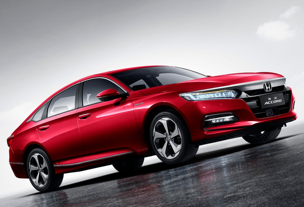 Honda Accord 2018 для китайского рынка