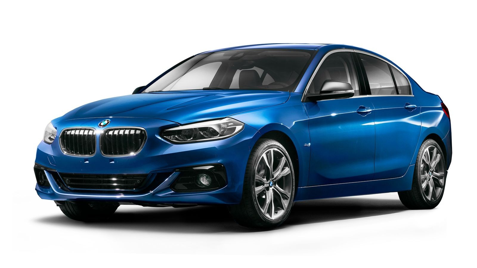 Переднеприводный седан BMW 1 серии – эксклюзивный продукт для китайского рынка.